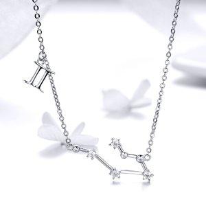 Colier din argint cu Constelatia Gemeni silver