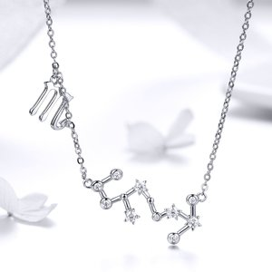 Colier din argint cu Constelatia Scorpion silver