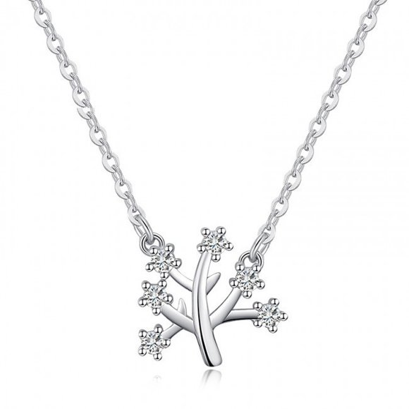 Colier din argint Fashion Tree
