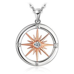 Colier din argint Golden Compass