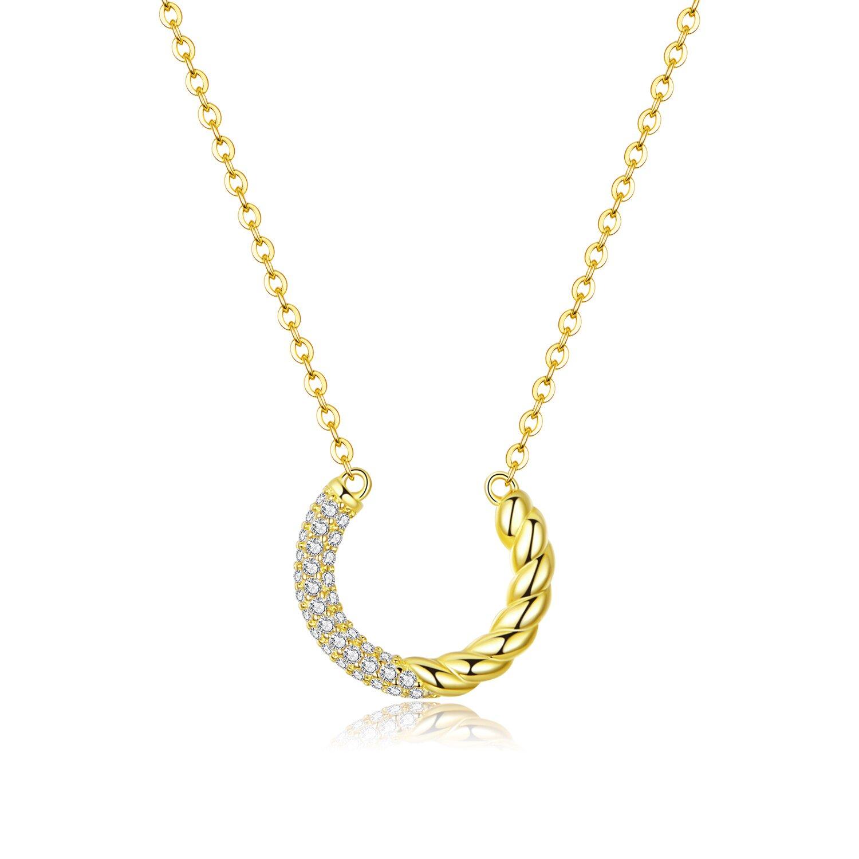 colier din argint golden swirl 88768 4