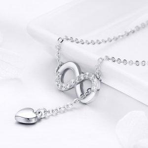 Colier din argint Infinite Love