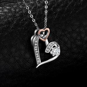 Colier din argint Infinity Heart
