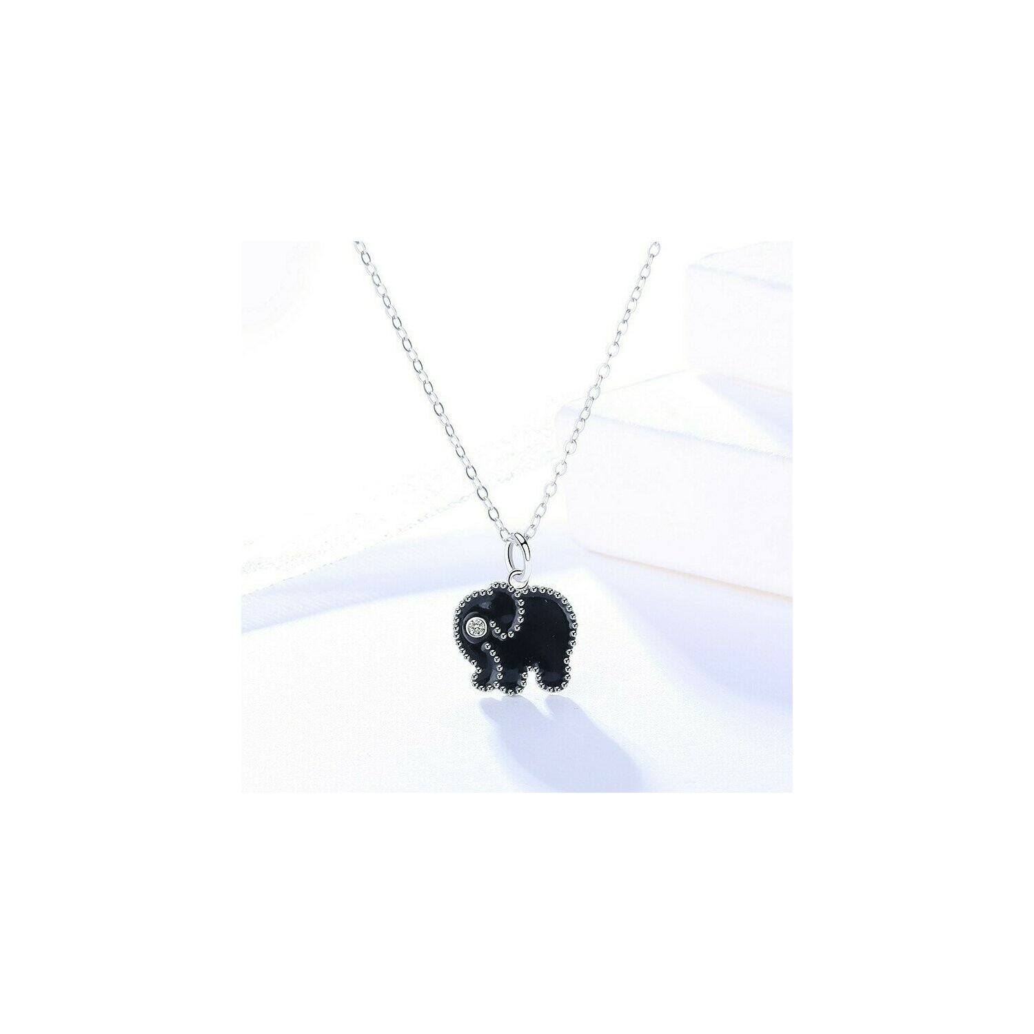 colier din argint little black elephant 73906 4