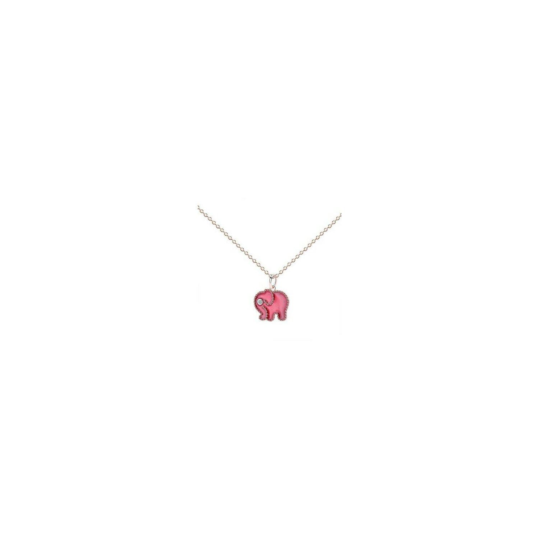 colier din argint little pink elephant 73909 4