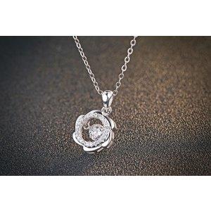 Colier din argint Lucky Diamond