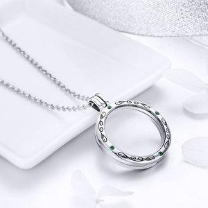 Colier din argint Mistery Round Locket