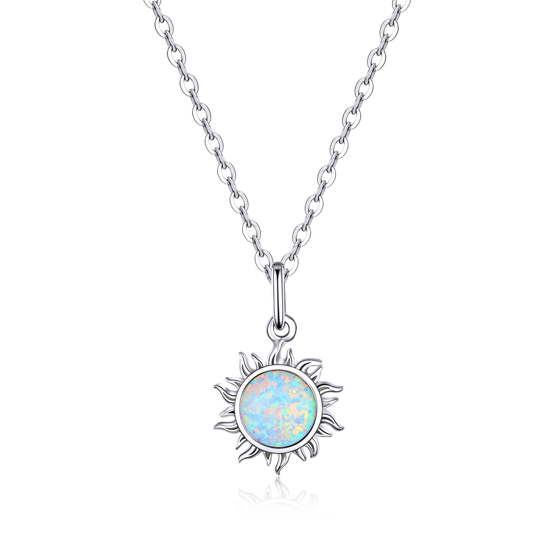 colier din argint opal sun 74161 4