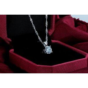 Colier din argint Petit Diamond