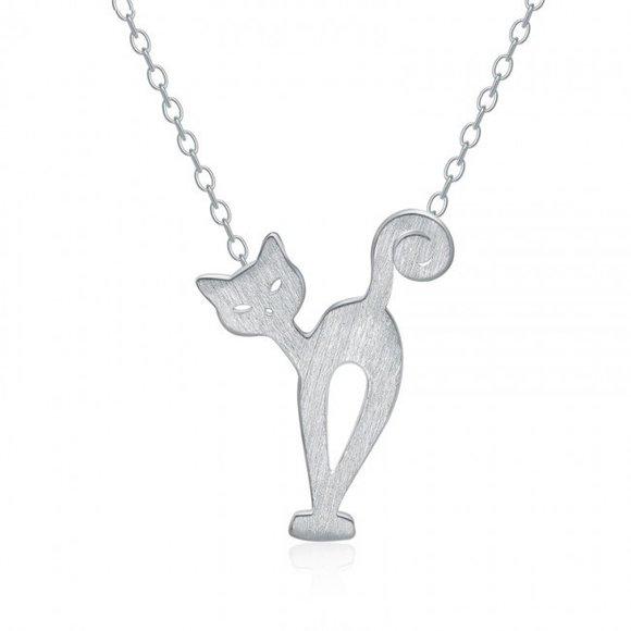 Colier din argint Sheeba Cat