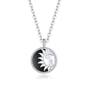 Colier din argint Shining Sun Pendant
