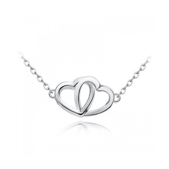 Colier din argint Silver Hearts