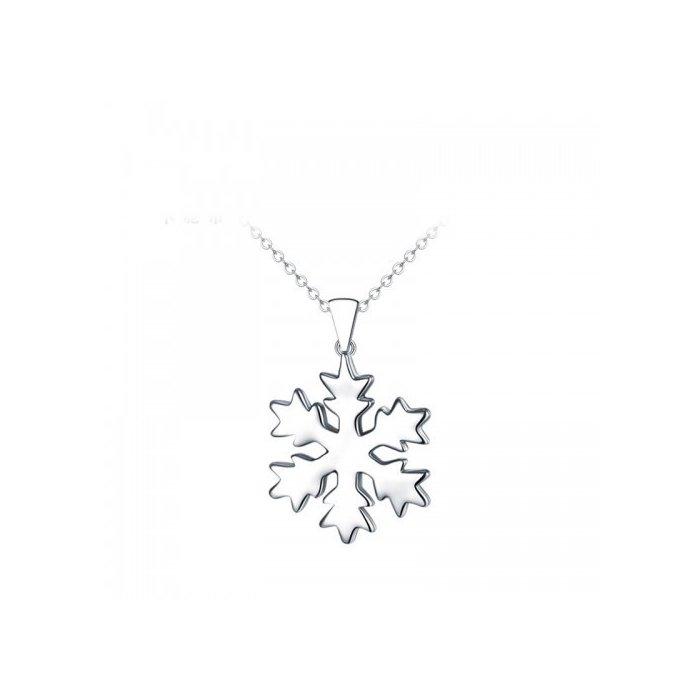 Colier din argint Silver Snowflake poza 2021