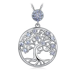 Colier din argint Spinel Tree