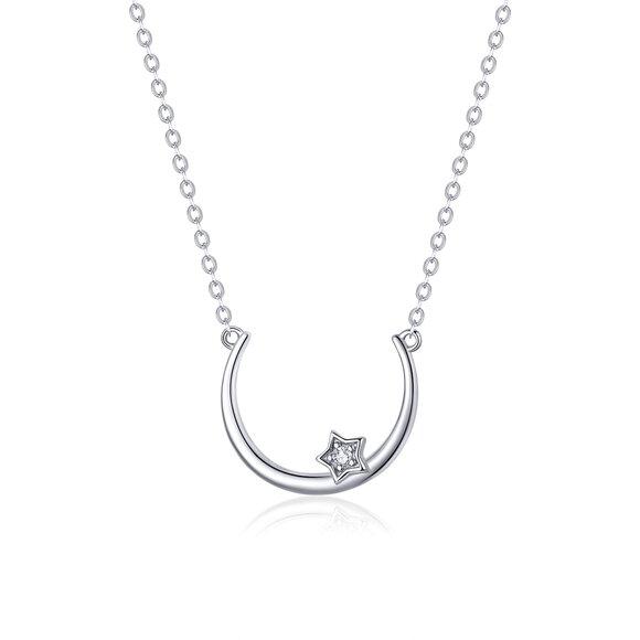 Colier din argint Star's Necklace