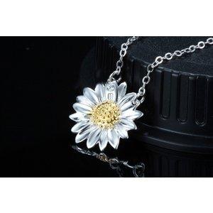 Colier din argint Summer Flower