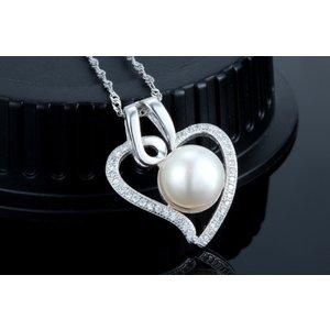 Colier din argint Summer Pearls