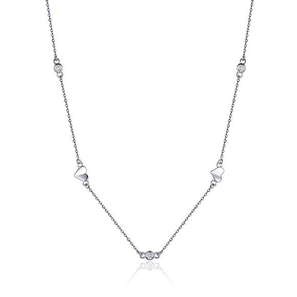 Colier din argint Sweet Heart Necklace
