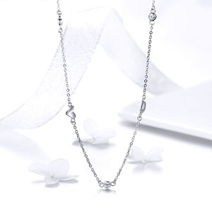 Colier din argint Sweet Heart Necklace