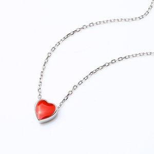 Colier din argint Sweet Red Heart