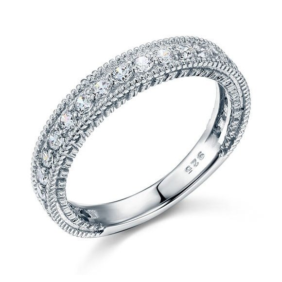 Inel din argint Diamond Eternity Whisper