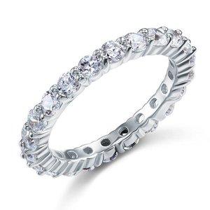 Inel din argint Diamond Eternity