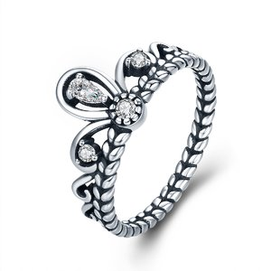 Inel din argint Beautiful Crown