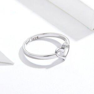 Inel din argint Best Love