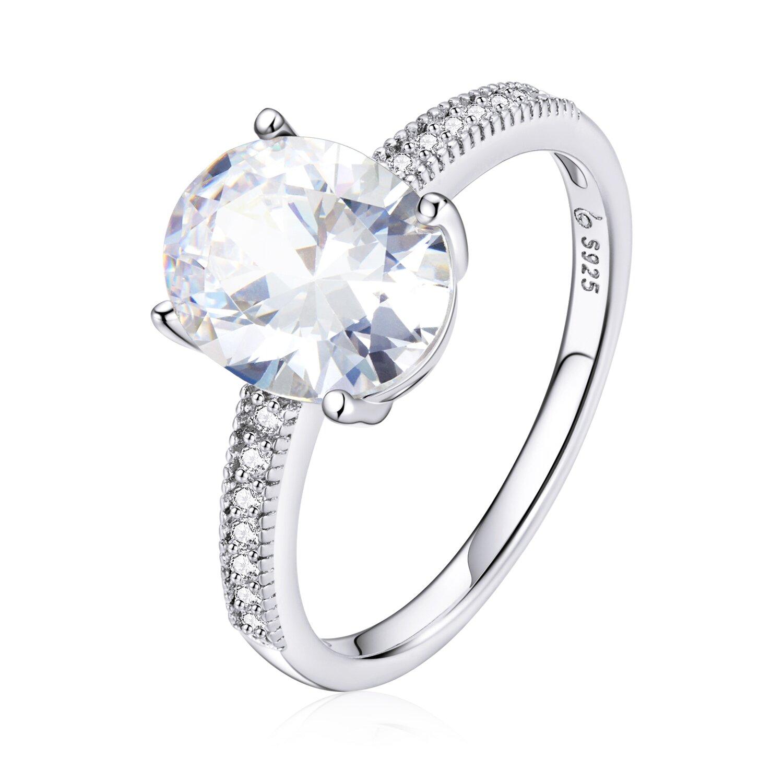inel din argint big round crystal 88735 4