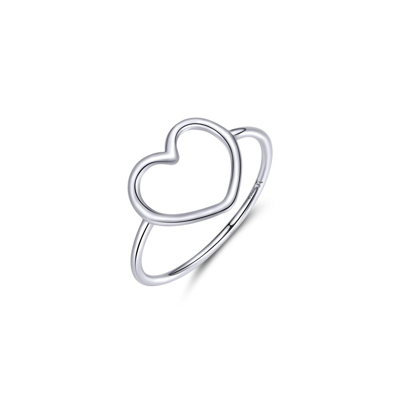 inel din argint big simple heart 73540 4