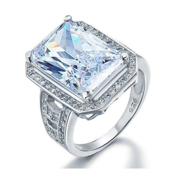 Inel din argint Big Special Diamond
