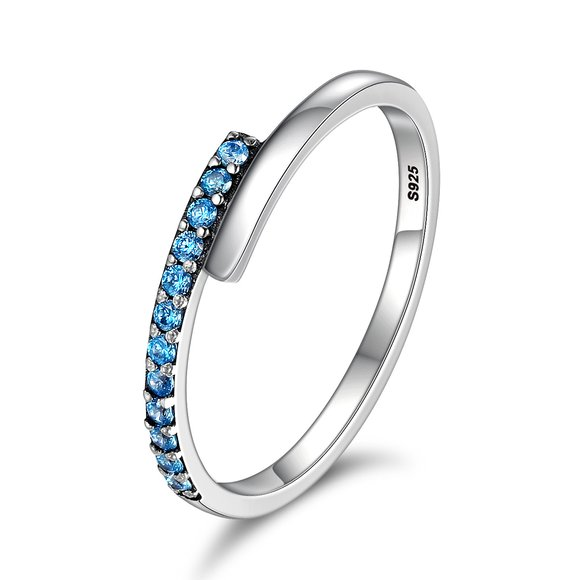 Inel din argint Blue Fancy Ring