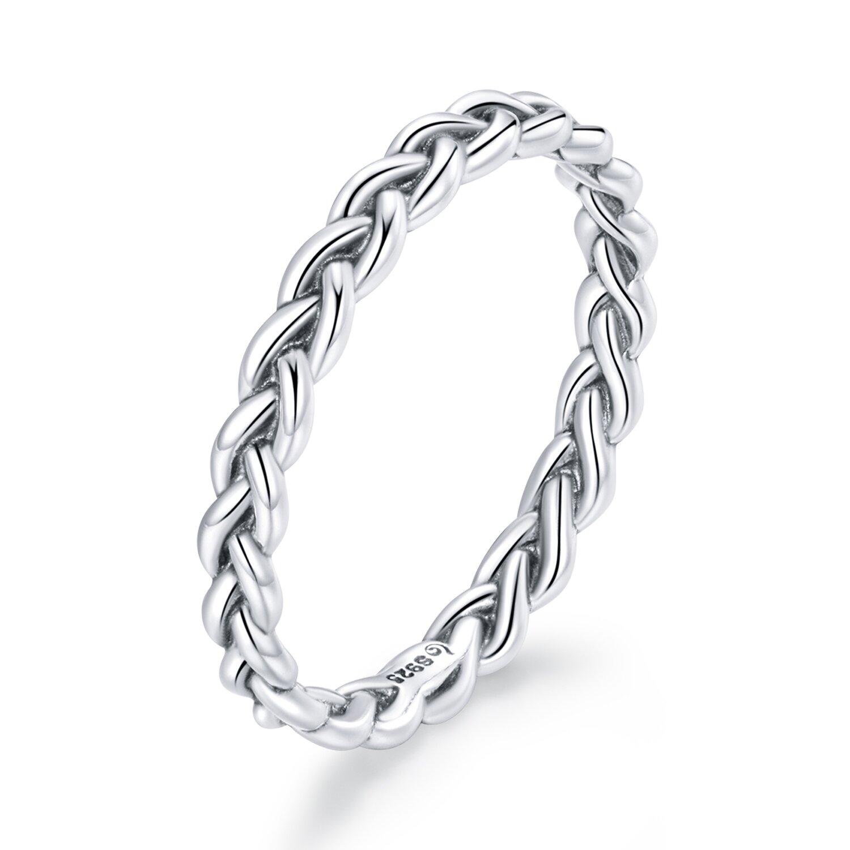 inel din argint chain band 88015 4