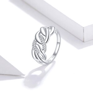 Inel din argint Chain Ring