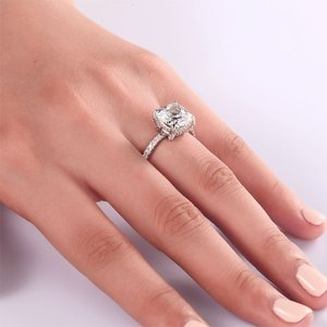 Inel din argint Clear Loving Diamond