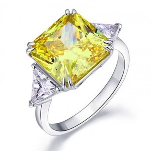 Inel din argint Countess Diamond Yellow