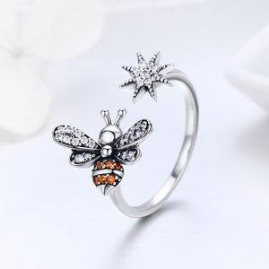 Inel din argint Crystal Bee