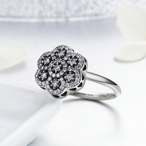 Inel din argint Crystal Bloom Ring