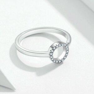 Inel din argint Crystal Circle