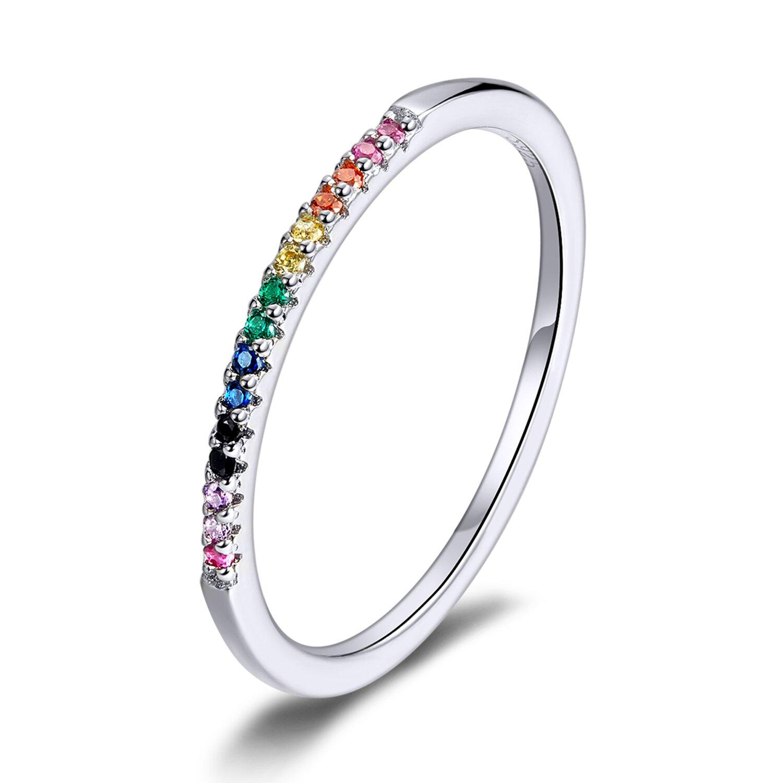 inel din argint crystal rainbow 72442 4