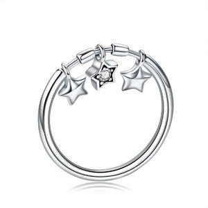 Inel din argint cu 3 Stelute