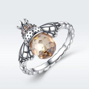 Inel din argint cu Albinuta