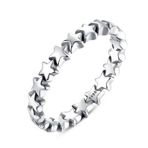 Inel din argint cu Stelute Infinite