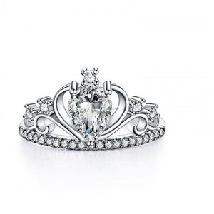 Inel din argint Diamond Big Crown
