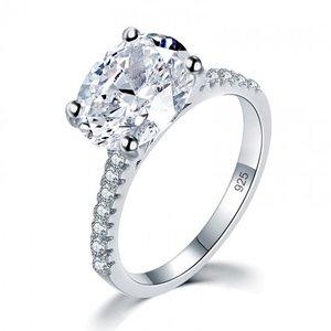 Inel din argint Diamond Duchess clear