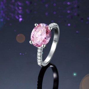 Inel din argint Diamond Duchess pink