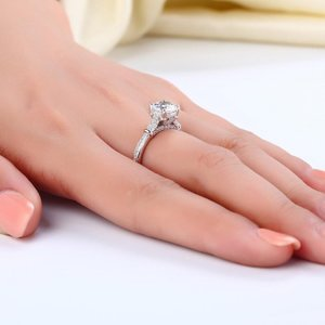 Inel din argint Diamond Sweet Anniversary