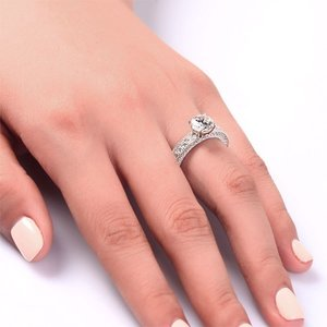 Inel din argint Eden Princess Clear