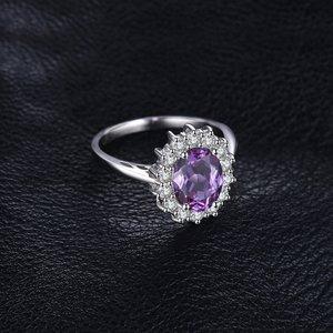 Inel din argint Elegant Amethyst