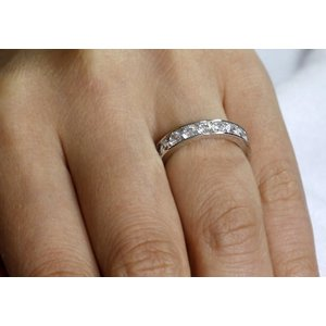 Inel din argint Eternity Diamonds